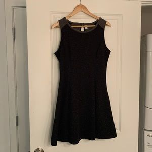 Gray and Black old navy dress
